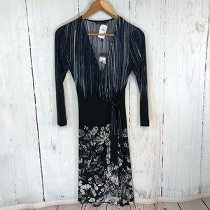 BCBG Adele Wrap Dress NWT